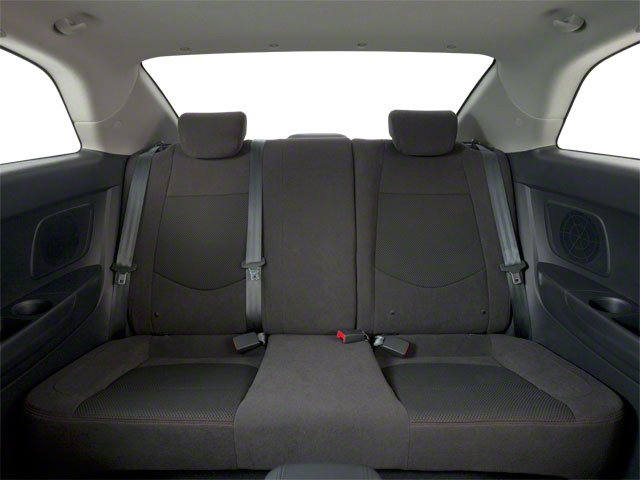 2011 Kia Forte Koup Prices and Values Coupe 2D SX backseat interior