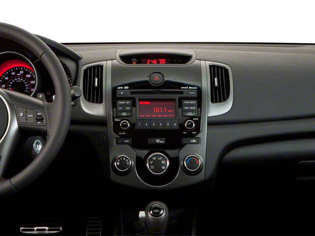 2011 Kia Forte Koup Prices and Values Coupe 2D SX center dashboard