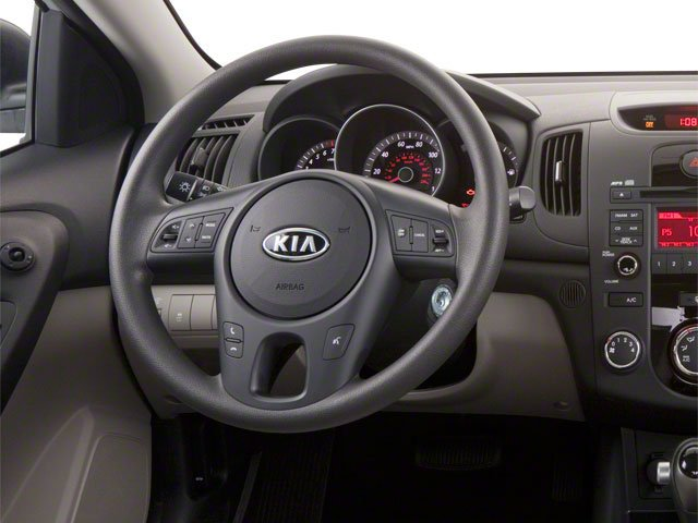 2011 Kia Forte Prices and Values Sedan 4D LX driver's dashboard