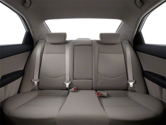 2011 Kia Forte Prices and Values Sedan 4D LX backseat interior