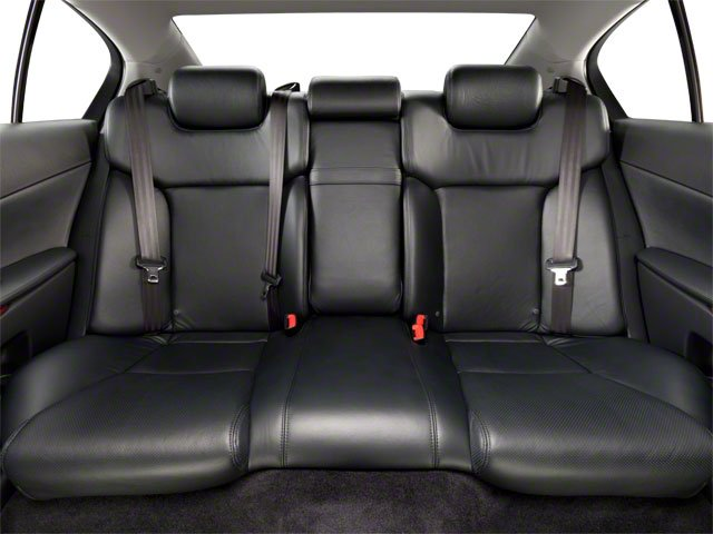 2011 Lexus GS 350 Prices and Values Sedan 4D GS350 backseat interior
