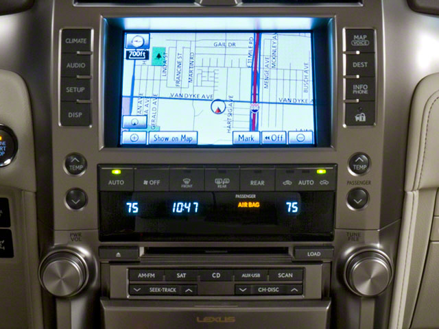 2011 Lexus GX 460 Prices and Values Utility 4D Premium 4WD stereo system