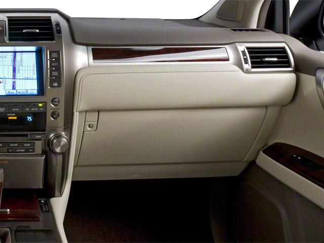2011 Lexus GX 460 Prices and Values Utility 4D Premium 4WD passenger's dashboard