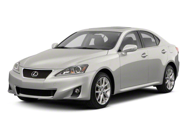 2011 Lexus IS 250 Prices and Values Sedan 4D IS250 side front view