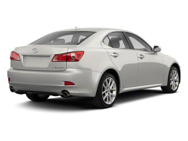 2011 Lexus IS 250 Prices and Values Sedan 4D IS250 side rear view