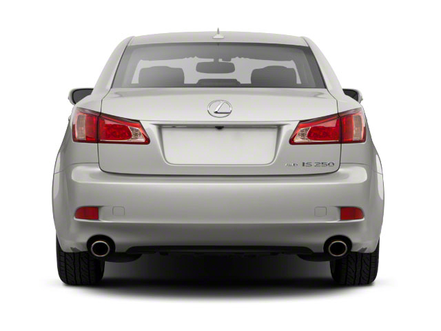 2011 Lexus IS 250 Prices and Values Sedan 4D IS250 rear view