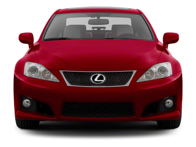2011 Lexus IS F Prices and Values Sedan 4D IS-F front view