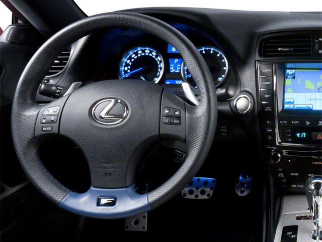 2011 Lexus IS F Prices and Values Sedan 4D IS-F driver's dashboard