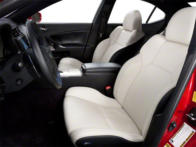 2011 Lexus IS F Prices and Values Sedan 4D IS-F front seat interior
