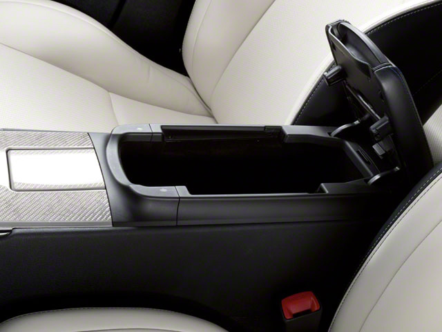 2011 Lexus IS F Prices and Values Sedan 4D IS-F center storage console