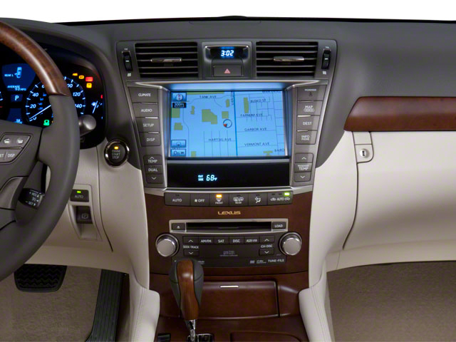 2011 Lexus LS 600h L Prices and Values Sedan 4D LS600hL AWD center dashboard