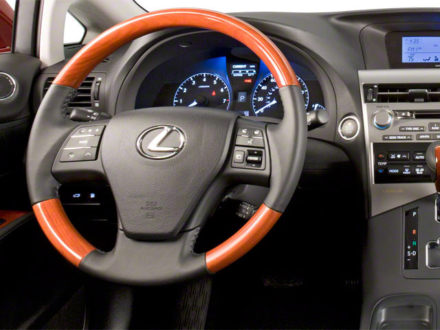 2011 Lexus RX 450h Prices and Values Utility 4D 2WD driver's dashboard