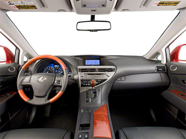 2011 Lexus RX 450h Prices and Values Utility 4D 2WD full dashboard