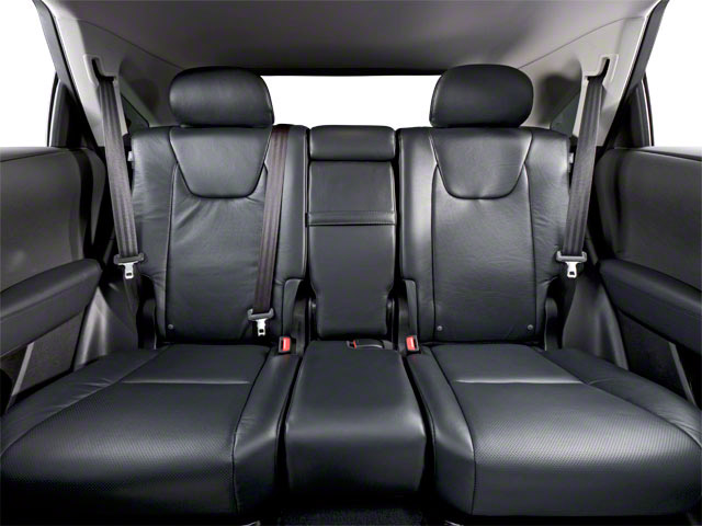 2011 Lexus RX 450h Prices and Values Utility 4D 2WD backseat interior