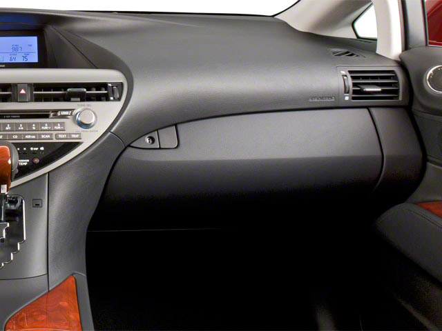 2011 Lexus RX 450h Prices and Values Utility 4D 2WD passenger's dashboard