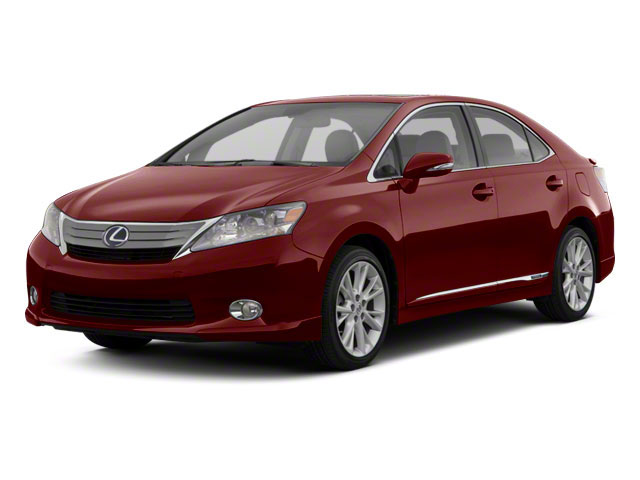 2011 Lexus HS 250h Prices and Values Sedan 4D HS250h side front view