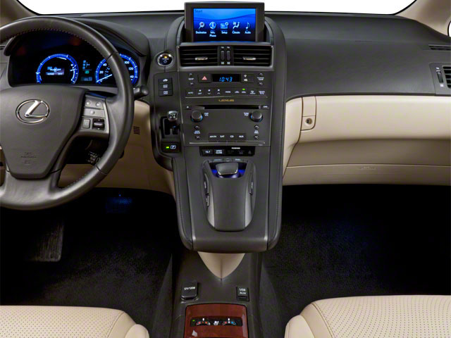 2011 Lexus HS 250h Prices and Values Sedan 4D HS250h center console