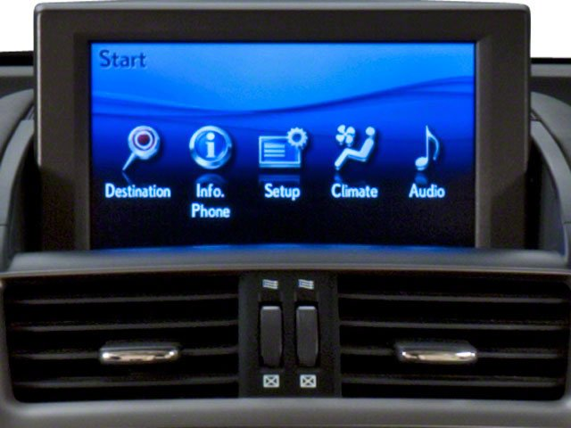 2011 Lexus HS 250h Prices and Values Sedan 4D HS250h navigation system