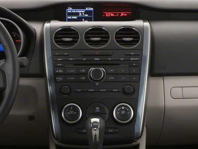 2011 Mazda CX-7 Prices and Values Utility 4D i SV center console