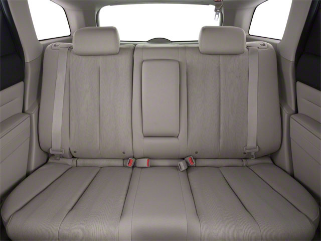 2011 Mazda CX-7 Prices and Values Utility 4D i SV backseat interior