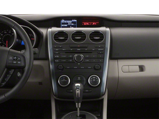 2011 Mazda CX-7 Prices and Values Utility 4D i Sport 2WD center dashboard