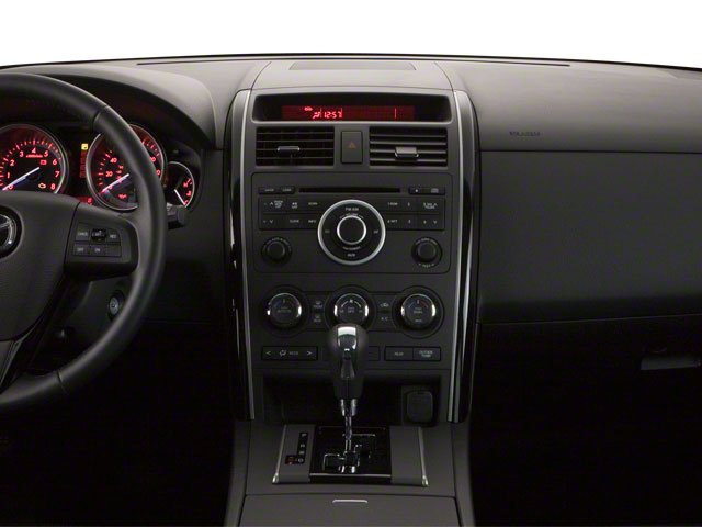 2011 Mazda CX-9 Prices and Values Utility 4D Touring AWD center dashboard