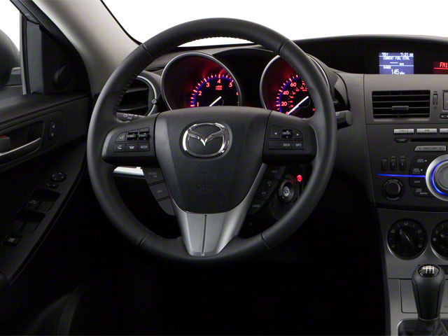 2011 Mazda Mazda3 Prices and Values Wagon 5D SPEED driver's dashboard