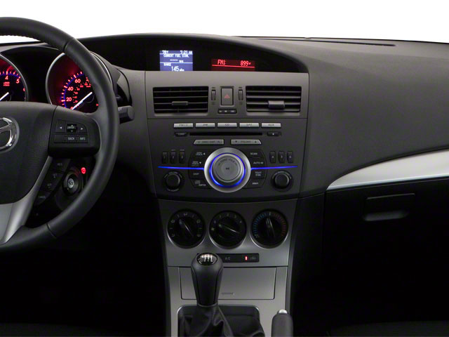 2011 Mazda Mazda3 Prices and Values Wagon 5D SPEED center dashboard