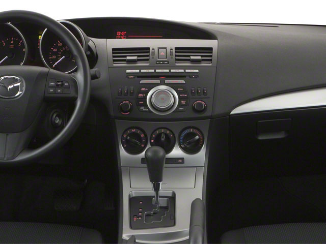 2011 Mazda Mazda3 Prices and Values Sedan 4D s GT center dashboard