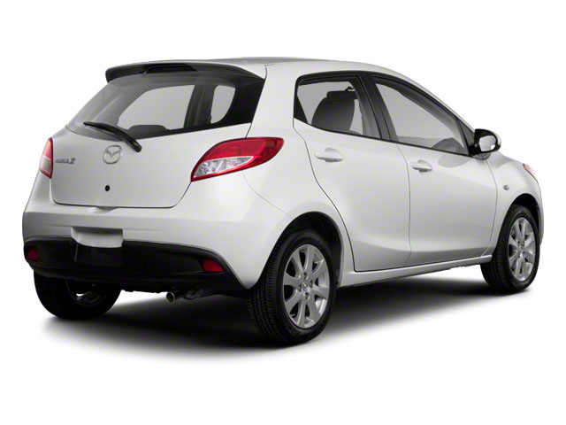 2011 Mazda Mazda2 Prices and Values Hatchback 5D side rear view