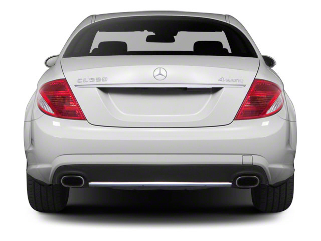 2011 Mercedes-Benz CL-Class Prices and Values Coupe 2D CL550 AWD rear view