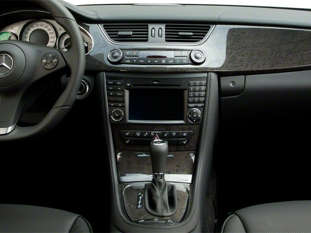 2011 Mercedes-Benz CLS-Class Prices and Values Sedan 4D CLS63 AMG center console