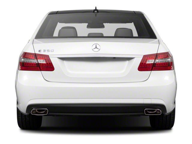 2011 Mercedes-Benz E-Class Pictures E-Class Sedan 4D E550 AWD photos rear view