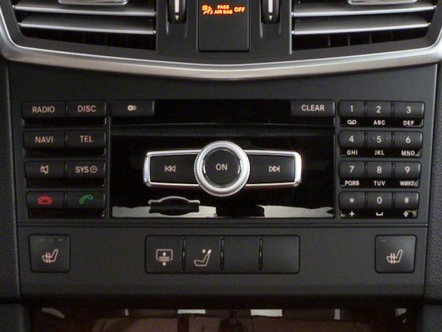 2011 Mercedes-Benz E-Class Prices and Values Sedan 4D E350 stereo system