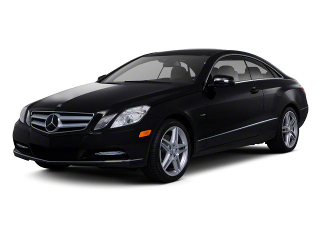 2011 Mercedes-Benz E-Class Prices and Values Coupe 2D E550 side front view