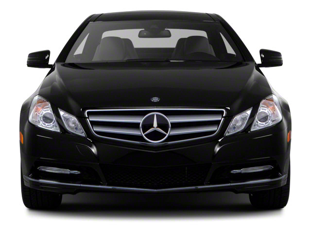 2011 Mercedes-Benz E-Class Prices and Values Coupe 2D E550 front view
