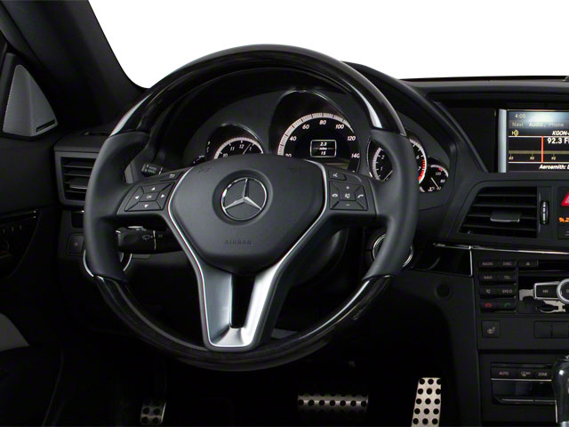 2011 Mercedes-Benz E-Class Prices and Values Coupe 2D E550 driver's dashboard