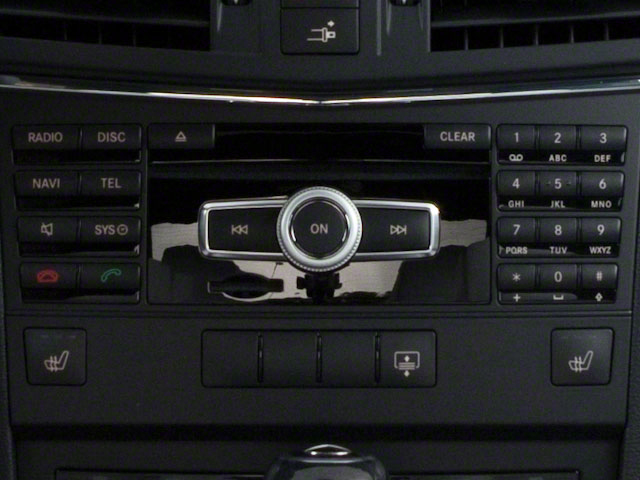 2011 Mercedes-Benz E-Class Prices and Values Coupe 2D E550 stereo system