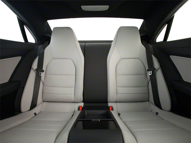 2011 Mercedes-Benz E-Class Prices and Values Coupe 2D E550 backseat interior