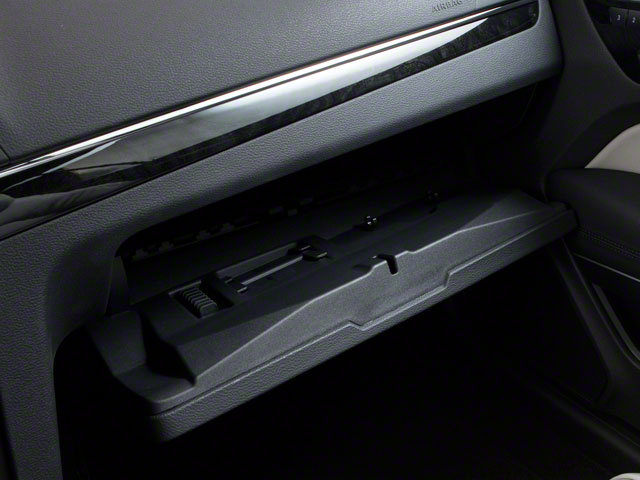 2011 Mercedes-Benz E-Class Prices and Values Coupe 2D E550 glove box