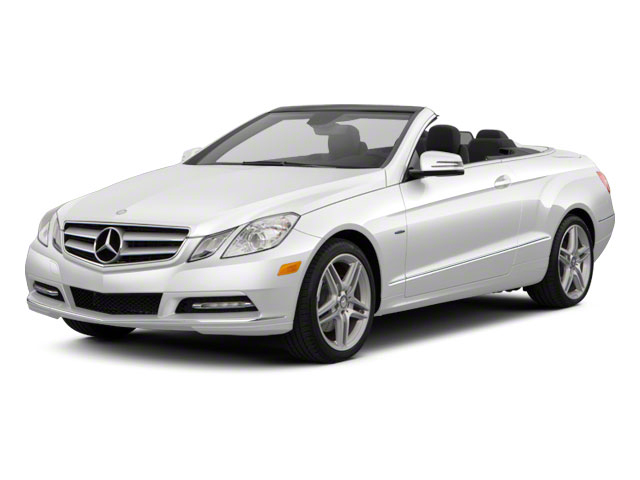 2011 Mercedes-Benz E-Class Prices and Values Convertible 2D E550 side front view