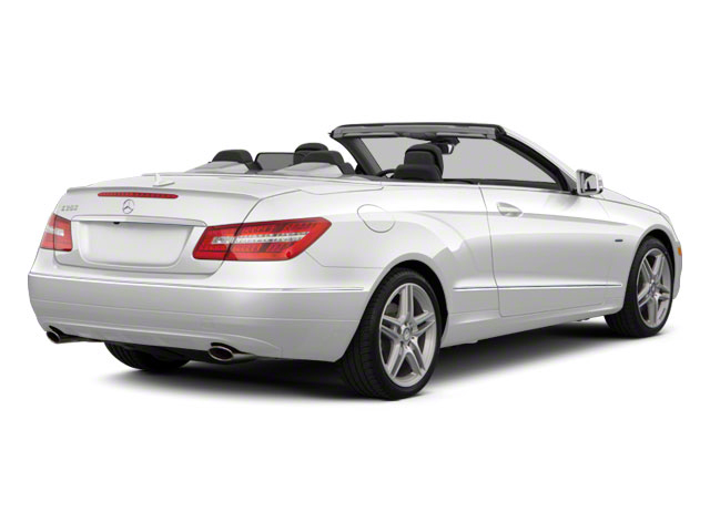 2011 Mercedes-Benz E-Class Prices and Values Convertible 2D E550 side rear view