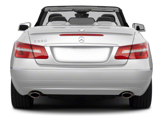 2011 Mercedes-Benz E-Class Prices and Values Convertible 2D E550 rear view