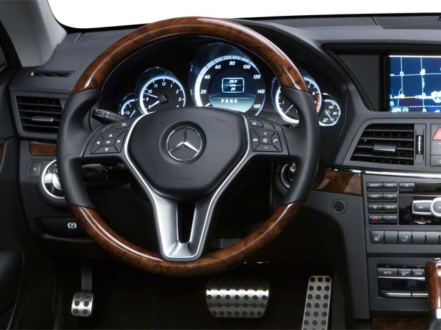 2011 Mercedes-Benz E-Class Prices and Values Convertible 2D E550 driver's dashboard
