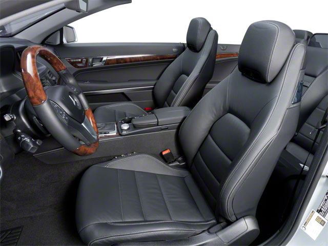 2011 Mercedes-Benz E-Class Prices and Values Convertible 2D E550 front seat interior