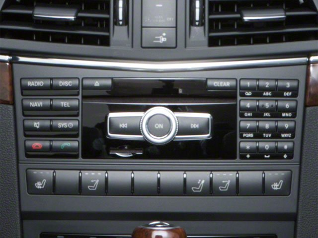 2011 Mercedes-Benz E-Class Prices and Values Convertible 2D E550 stereo system