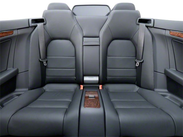 2011 Mercedes-Benz E-Class Prices and Values Convertible 2D E550 backseat interior