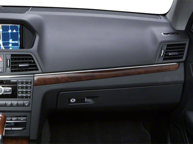 2011 Mercedes-Benz E-Class Prices and Values Convertible 2D E550 passenger's dashboard