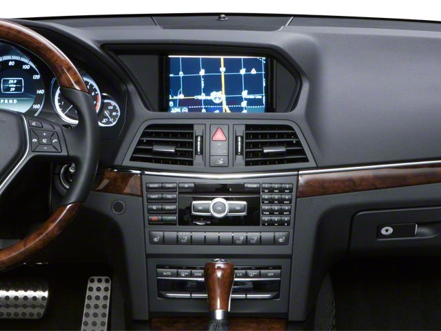 2011 Mercedes-Benz E-Class Prices and Values Convertible 2D E550 center dashboard