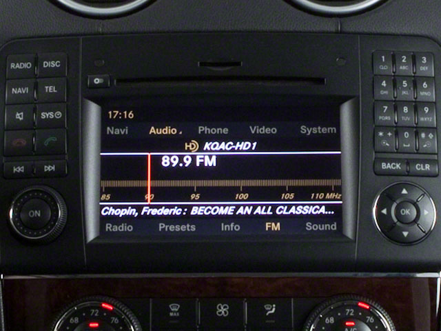 2011 Mercedes-Benz GL-Class Prices and Values Utility 4D GL350 BlueTEC 4WD navigation system